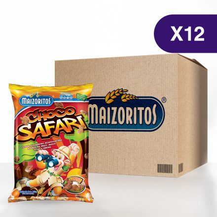Maizoritos® Chocosafari - Caja de 12 unidades de 240g