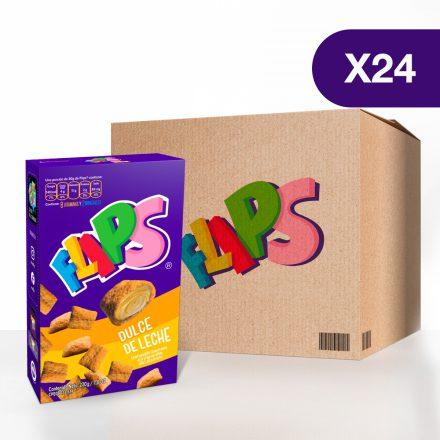 Flips® dulce de leche - Caja de 24 unidades de 220g
