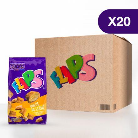 Flips® dulce de leche - Caja de 20 unidades de 120g