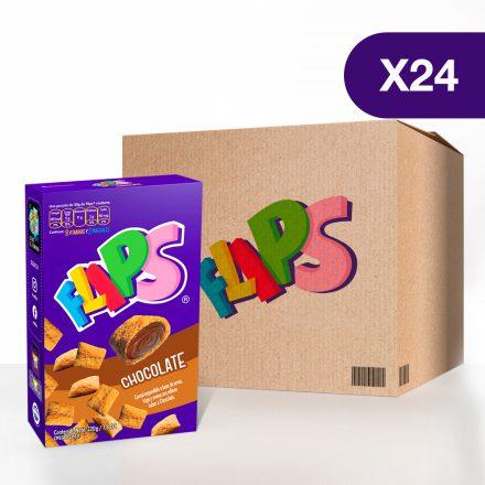 Flips® chocolate - Caja de 24 unidades de 220g