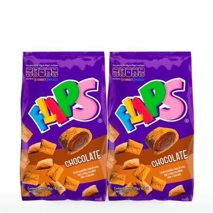 Flips® Chocolate - 2 unidades de 120g