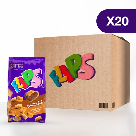 Flips® Chocolate - Caja de 20 unidades de 120g