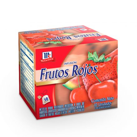 Infusión de Frutos Rojos McCormick® - Caja de 10 bolsitas