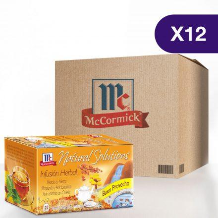 Infusión de Buen Provecho McCormick® - Caja de 12 Cajitas
