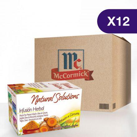 Infusión de Cúrcuma McCormick® - Caja de 12 cajitas