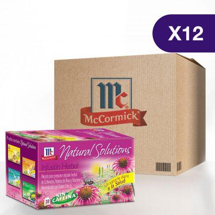 Infusión Soporte Diario a la Salud McCormick® - Caja de 12 Cajitas