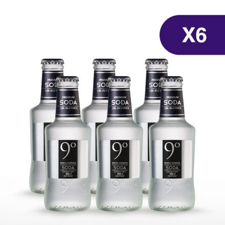 Soda 9 Grados - 6 unidades de 195ml