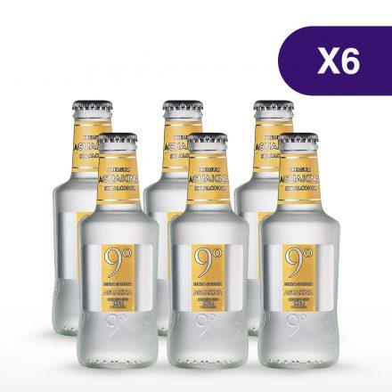 Soda 9° Grados Aguakina - 6 unidades de 200ml
