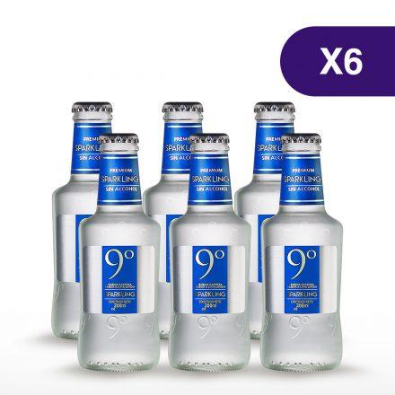Soda 9° Grados Sparkling - 6 unidades de 200ml