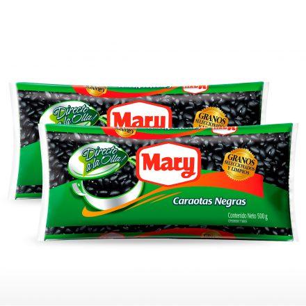 Caraotas Negras Mary - 2 unidades de 500g
