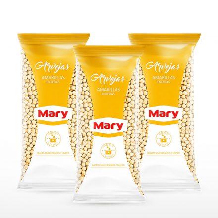 Arvejas Amarillas Mary - 3 unidades de 500g