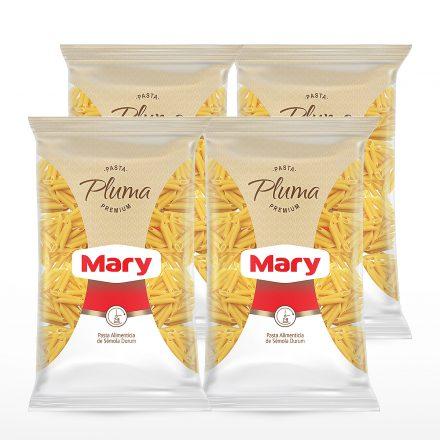 Pasta Premium Mary Plumitas - 4 unidades de 500g