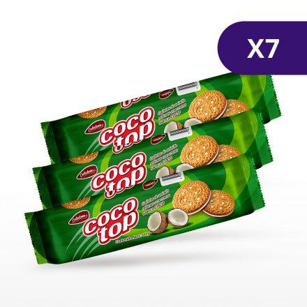 Galletas Tip-Top Coco - 7 unidades de 80g