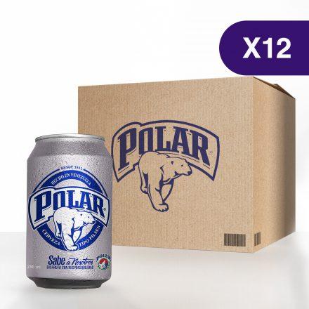 Cerveza Polar® Pilsen - Caja de 12 unidades de 250ml
