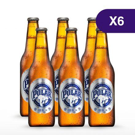 Polar® Pilsen - 6 unidades de 355ml