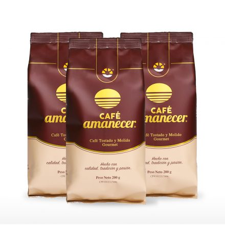 Café Amanecer® - 3 unidades de 200g