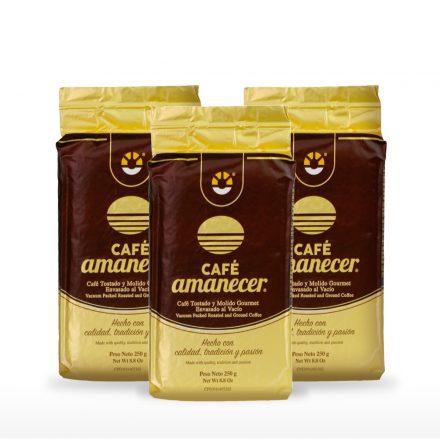 Café Amanecer® - 3 unidades de 250g