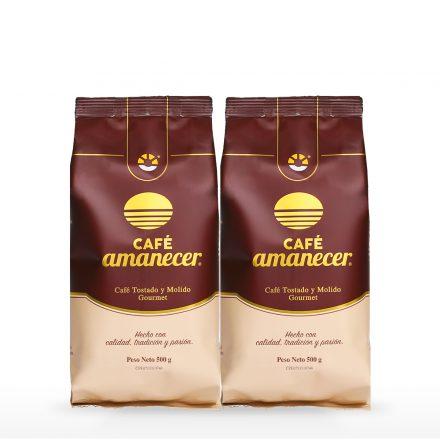 Café Amanecer® - 2 unidades de 500g