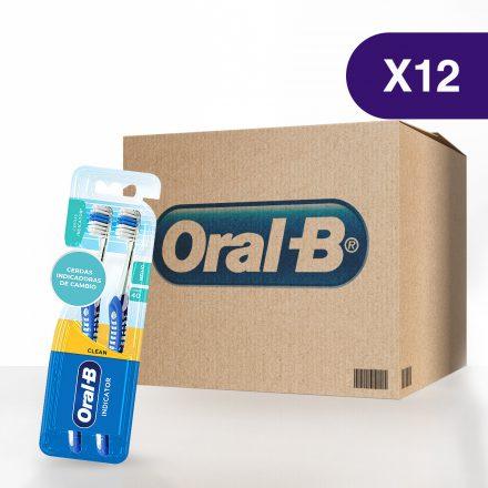 Cepillo Dental Oral-B® Pro Salud Indicator - Caja de 12 paquetes de 2 Pack