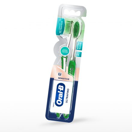 Cepillo Dental Oral-B® Sensitive Ultrafino - 2 Pack