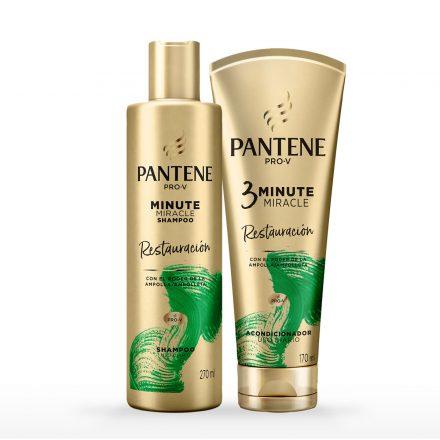 Combo Pantene Minute Miracle - Restauración