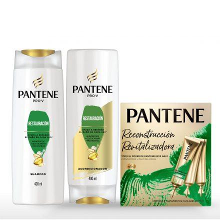 Combo Pantene con ampolla - Restauración 400ml
