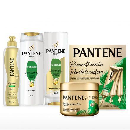 Combo completo Pantene - Restauración