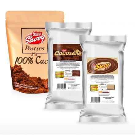 Cacao en Polvo + Troceados (Susy y Cocosette)