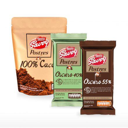Cacao en Polvo + Postres 40% y 55%