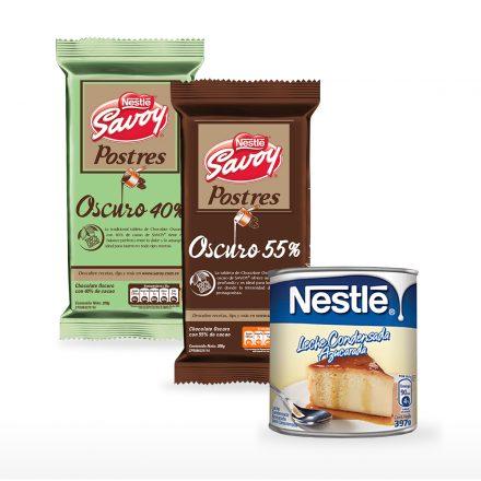 Leche condensada + Postres 40% y 55%