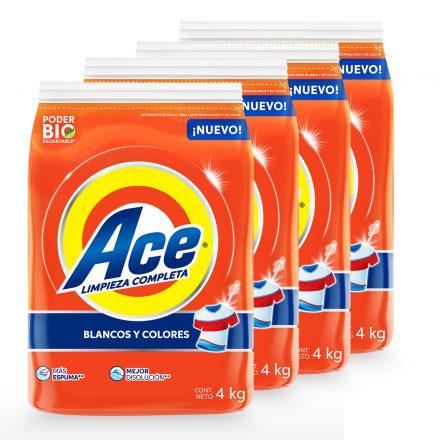 Ace Maxi Limpieza - Caja de 4 unidades de 4 kg