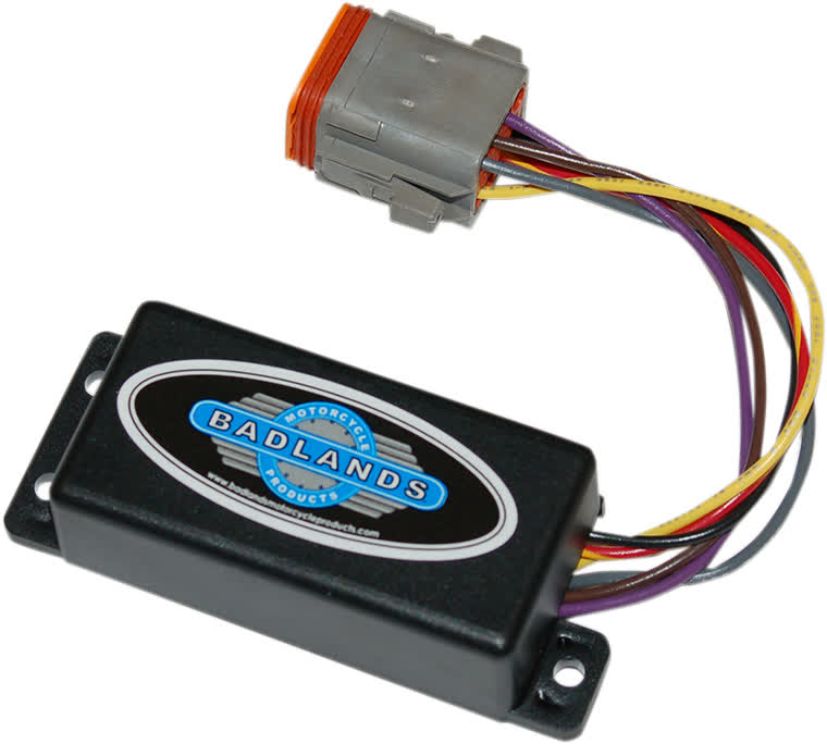 Badlands ATS-03-B-F Automatic Turn Signal Cancelling Module Plug-In Style