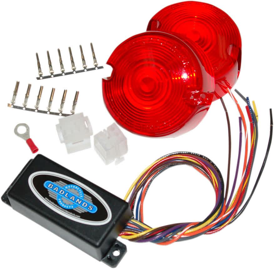 Badlands ILL-02-RL-B Plug-In Illuminator with Red Lens