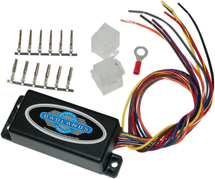 Badlands ILL-01-B Illuminator Plug-In Style Run Brake and Turn Signal Module