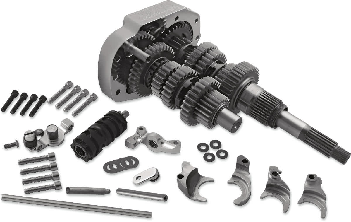 Baker 414P2G Overdrive 6-Speed Gear Set Kit for Twin Cam