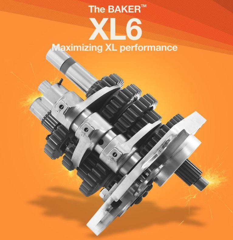 Baker 202 XL6 Transmission Kit for Sportster 95-03 XL