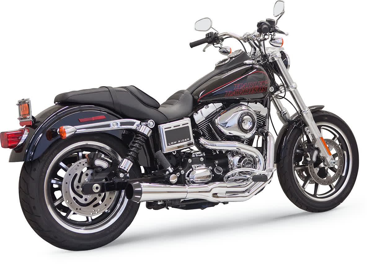 Bassani 1D32R Road Rage II Mega Power 2-Into-1 Exhaust System