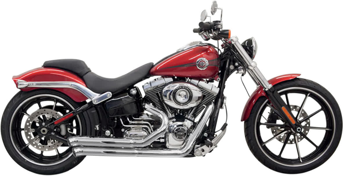 Bassani 1S33D Pro Street Exhaust System with Heat Shield