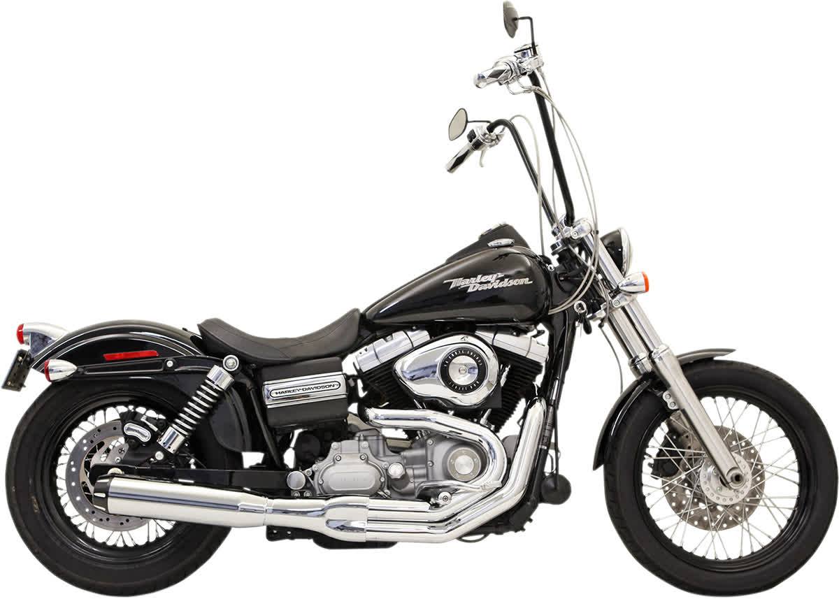 Bassani 1D18R Road Rage II B1 Power Exhaust System with Heat Shields
