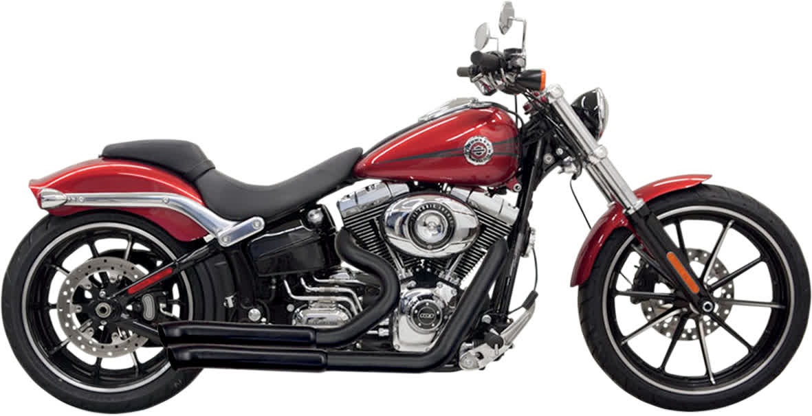 Bassani 1S33DB Pro Street Exhaust System with Heat Shield