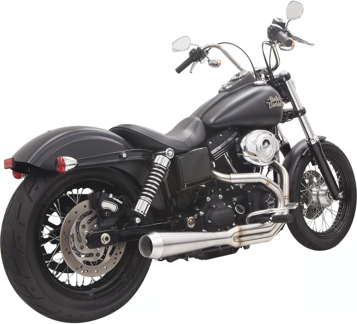 Bassani 1D1SS Road Rage III Exhaust System