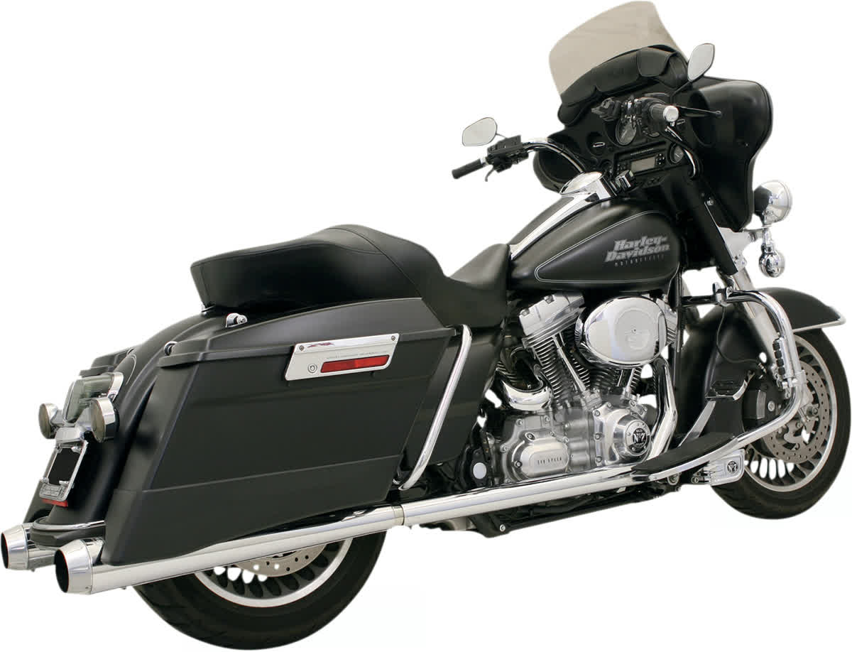Bassani 1F46J +P Stepped True-Duals Exhaust System