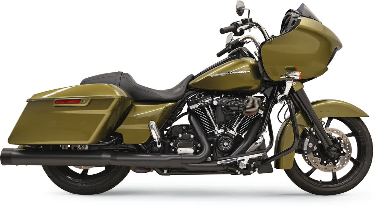 """Bassani 1F72DNT5B 4"""" DNT Straight Can Muffler with Acoustically Tuned Baffle"""