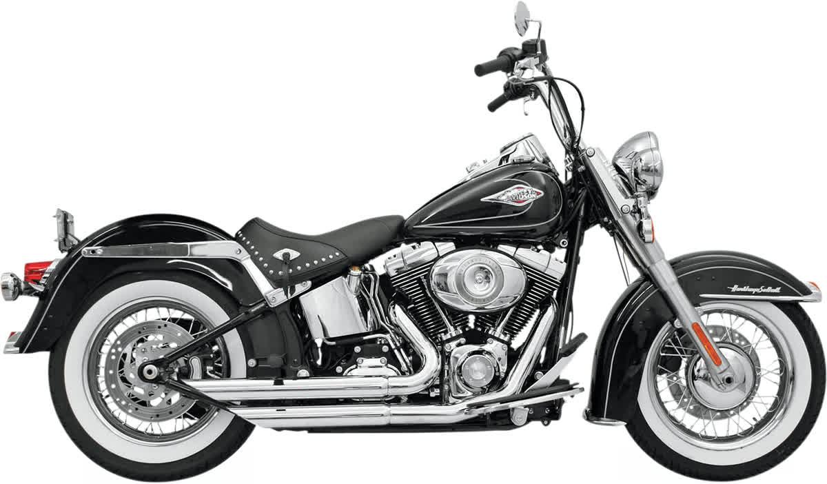 Bassani 12113B FireFlight Exhaust System Chrome