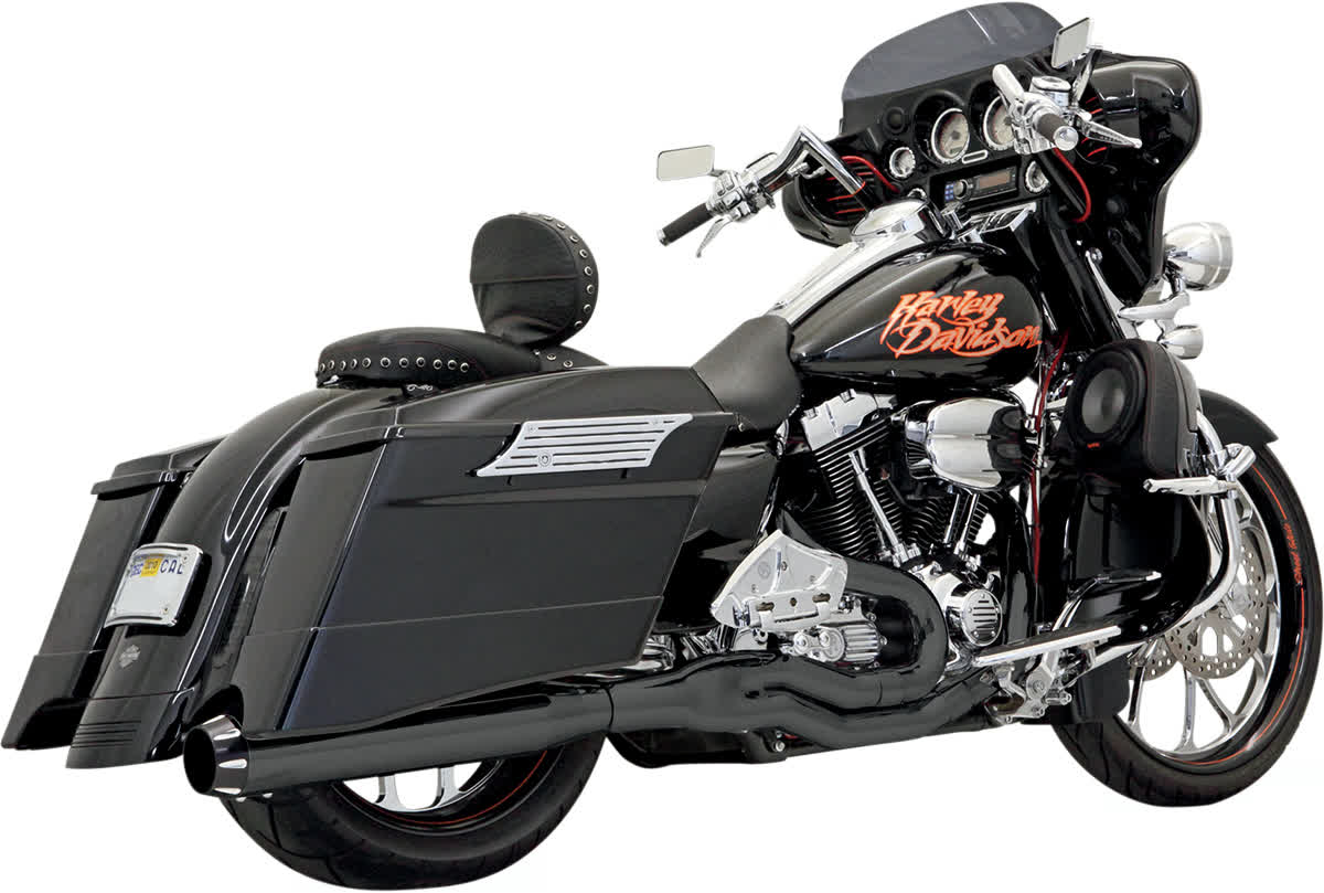 Bassani FLH-777B Road Rage II B1 Power Exhaust System with Heat Shields
