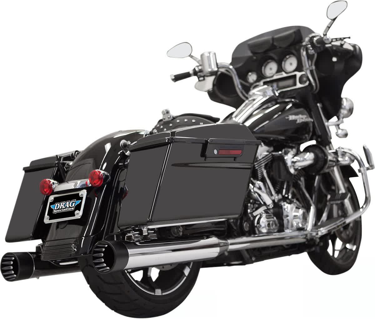 """Bassani 1F7DNT5 4"""" DNT Straight Can Muffler with Acoustically Tuned Baffle"""
