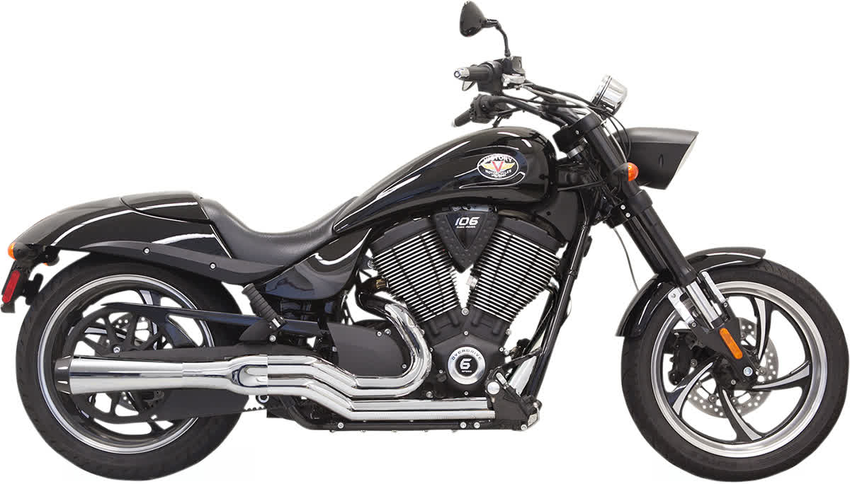 Bassani 6H22R Road Rage 2:1 Exhaust System