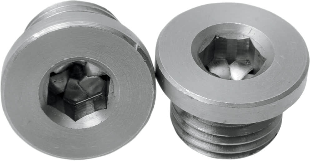 Bassani 1202P O2 Sensor Port Plugs 12mm x 1.25