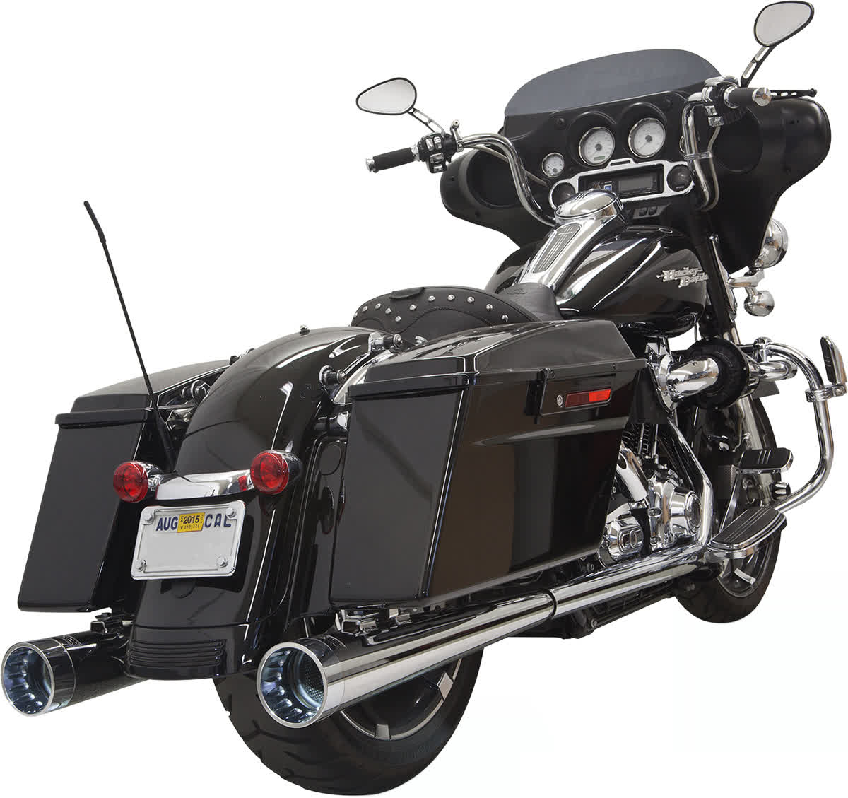 """Bassani 1F57DNT6 4"""" DNT Megaphone Muffler with Acoustically Tuned Baffle"""
