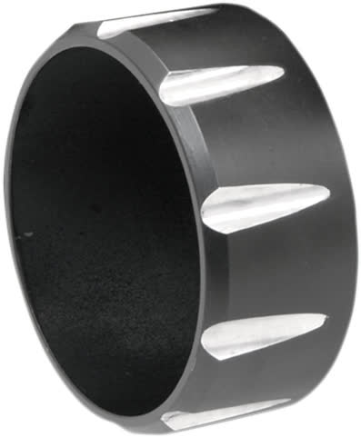"""Bassani BE30T Fluted Billet End Cap for 3"""" Firepower Slip-Ons"""